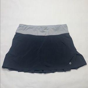 Lululemon Gray Skirt